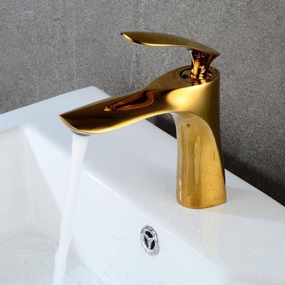 Badezimmer Accessoires Gold