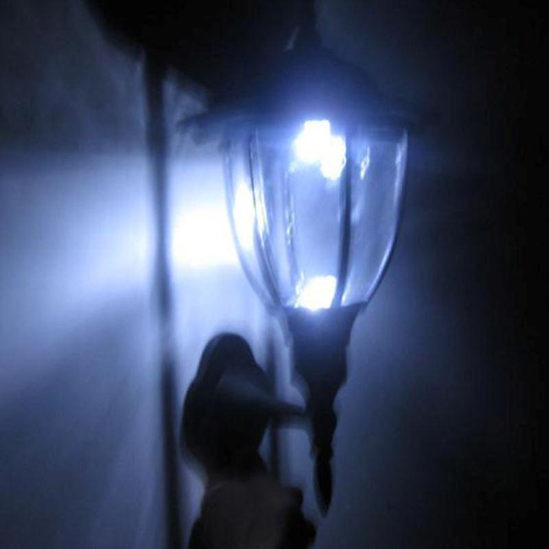 Beleuchtung  Solarleuchten  LED Solar Auenleuchten