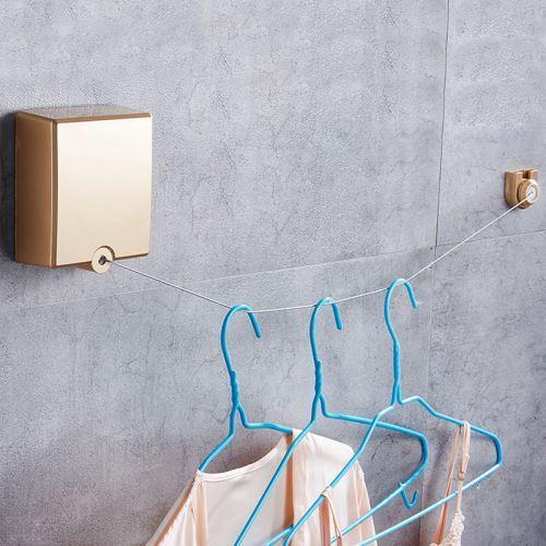 corde a linge retractable moderne simple pour balcon
