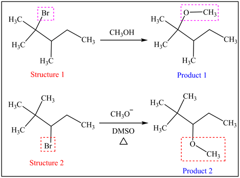 11-52 A single alkyl bromide reactant theoretically yields