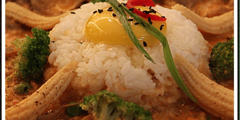 (已停業)【美食】台南|Bed Plus複合式亞洲餐廳,辣得夠勁的紅咖哩鐵板料理,嘗鮮者必訪高CP值餐廳!
