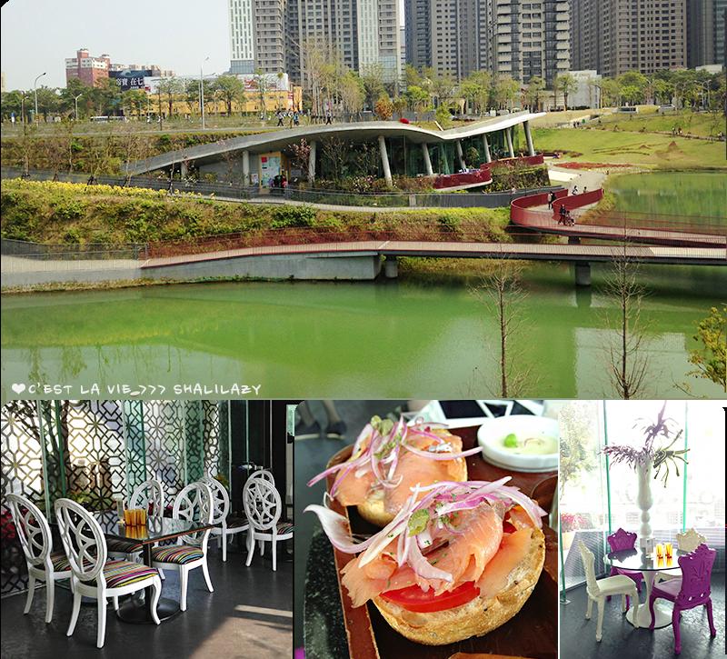 【美食】台中|秋紅谷浪漫約會,幸福小水舞裡的國王皇后午茶時光