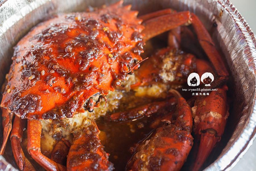 高雄|吮指的無窮美味!蟹皇宴,秘醬沙公蟹料理超誘人
