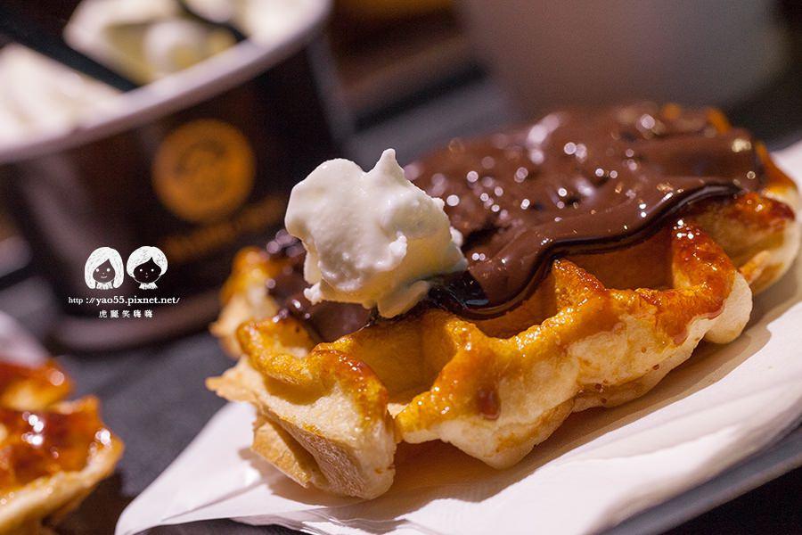高雄(已歇業)甜食控專屬!Waffle Bant,會融化的比利時鬆餅