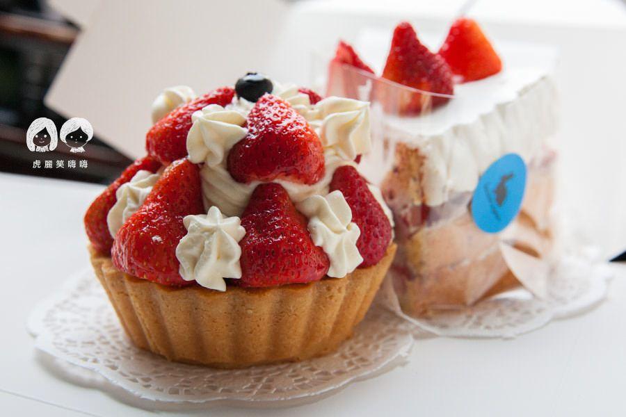 Bonnie sugar(高雄美食)夢幻草莓!隱身崛江內的甜點店