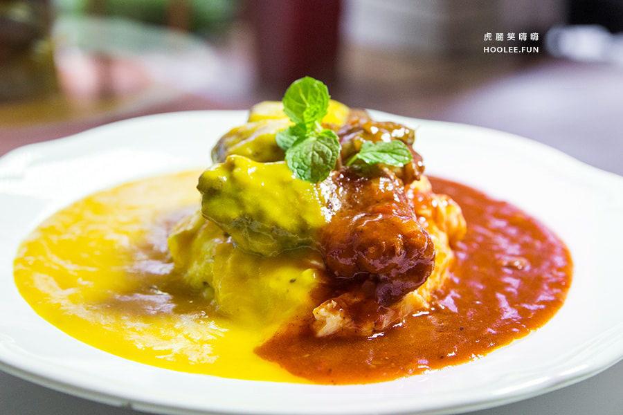 窩有fu 餐食咖啡(高雄美食)獨創雙醬料理!一次滿足味蕾的田園南瓜醬及匈牙利紅酒牛肉醬