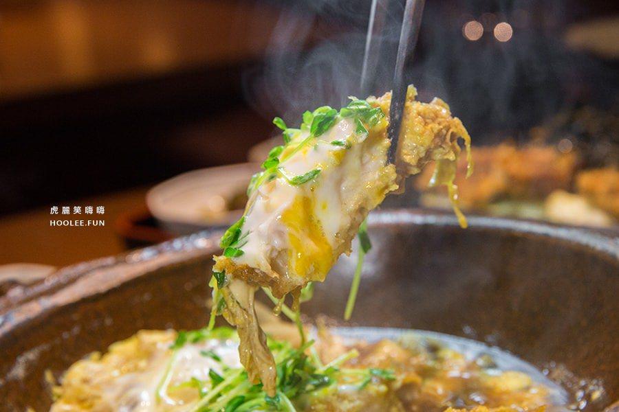 【高雄美食】約會聚餐必吃!銀座杏子日式豬排,熱騰騰鍋膳套餐、雙重口感的清爽茶泡飯料理
