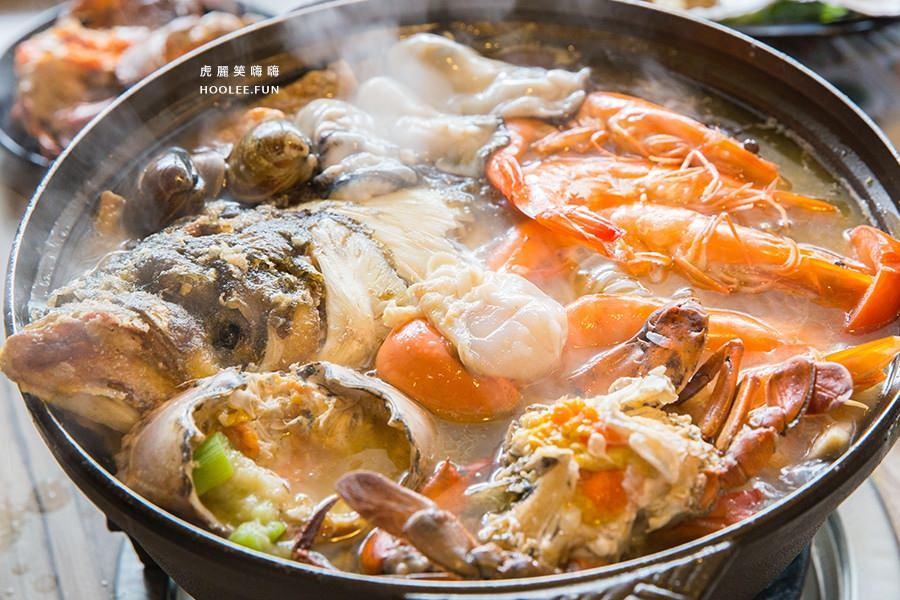 汕頭泉成 沙茶火鍋 中山總店(高雄美食 新興區)限量超猛海味!大啖紅蟳魚頭海鮮鍋,品嚐一甲子的好味道