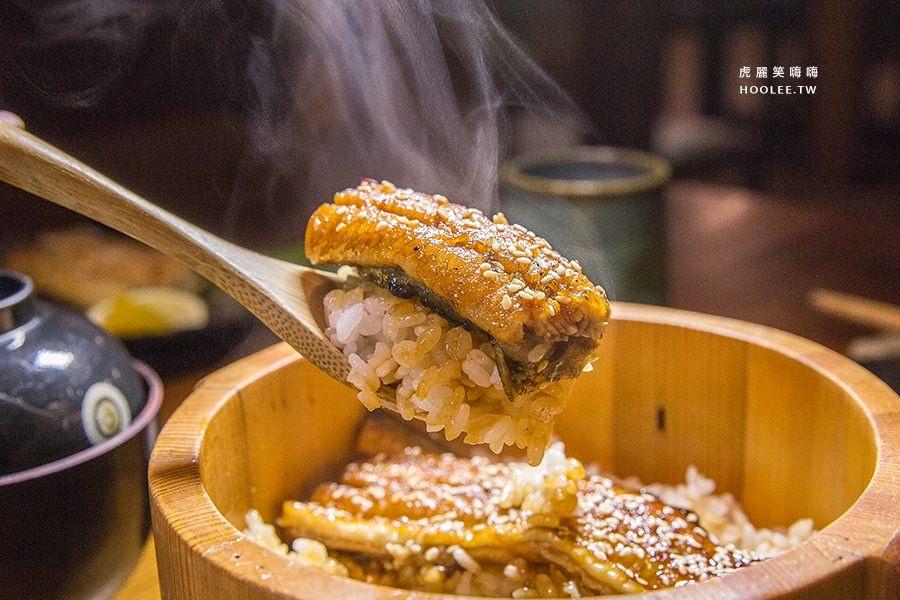 僕燒鰻(高雄美食 新興區)隱身巷弄的木盆鰻魚丼飯!炭火慢烤入味,卡滋卡滋的鰻魚箱壽司