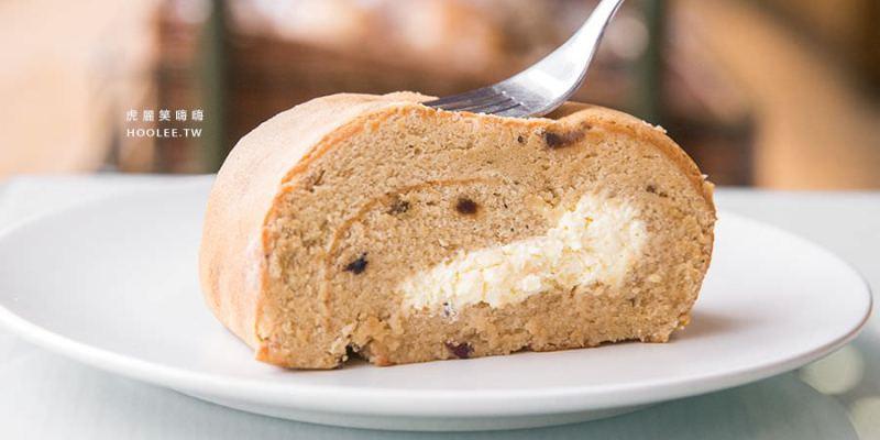 馬可先生 雜糧麵包烘焙坊(高雄)獨家燕麥豆漿蛋糕捲,人氣甜點!彌月蛋糕禮盒首選