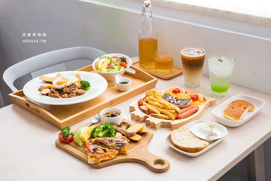 咘然居早午餐(高雄)超可愛貓頭鷹拼盤!推薦必吃燒肉飯與玻璃瓶冷泡茶