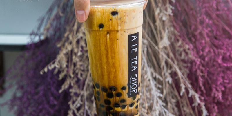 ㄚ樂茶店(高雄)療癒系超濃厚黑糖瀑布,必喝推薦!咀嚼控最愛黑糖蛋奶