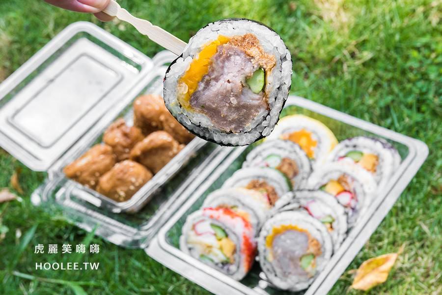 阿杏壽司(高雄)人氣平價花壽司!陽明市場排隊美食,私心推薦必吃芋泥壽司
