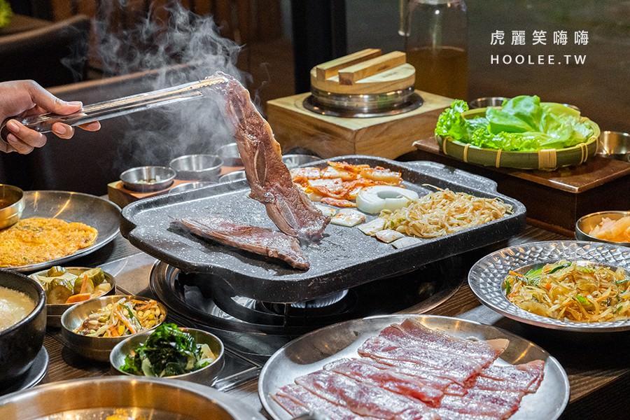 水刺床韓式烤肉餐廳(高雄)肉控聚餐激推!必點雙人拼盤套餐,特製泡菜和生菜免費續
