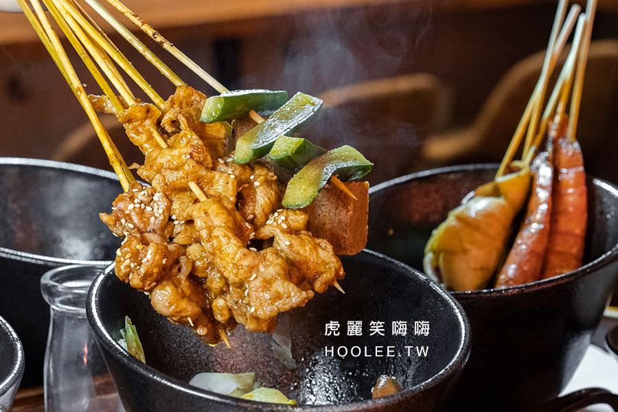 支支紅(高雄)四川麻辣燙串串!一吃就上癮的個人鍋物,肉串海鮮串都香麻不嗆辣