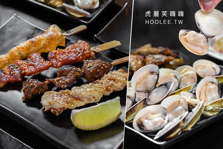 享鮮海鮮燒烤(高雄)光華夜市宵夜!價格平實串燒料理,必吃鹽烤吳郭魚.蛤蜊.起司雞肉串