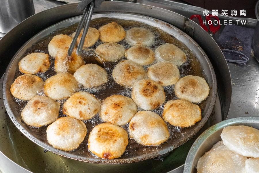 苓雅油煎肉圓(高雄)人氣50年老店!金黃恰恰油煎肉圓,軟Q又酥脆的平價小吃