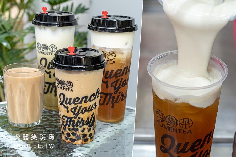 御賞茶(高雄)療癒系創意飲料!黑糖珍珠鮮奶冰沙和擂茶鮮奶,還有熱呼呼馬來西亞拉茶