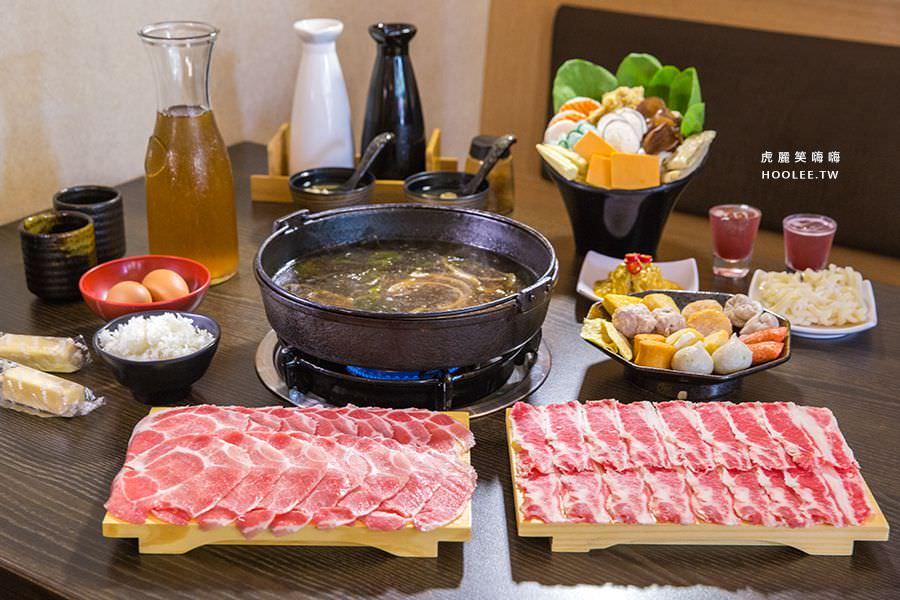 井兵衛壽喜燒(高雄)肉食控雙人套餐,鍋物推薦!美術館午晚餐