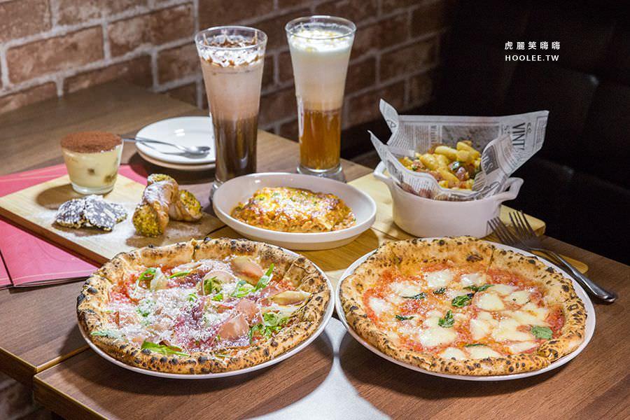 波市多拿坡里披薩(高雄)型男主廚的窯烤Pizza,聚餐推薦!連外國人也愛吃