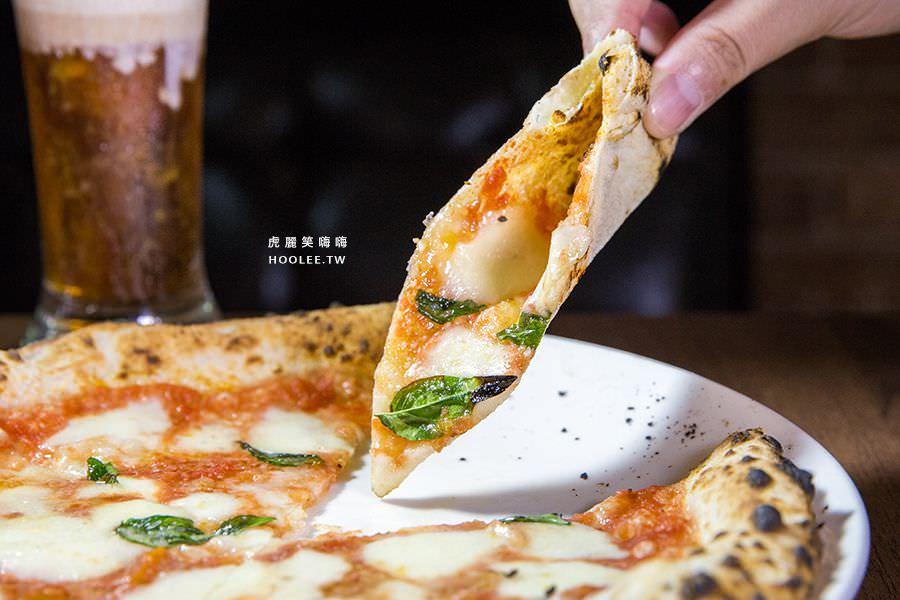 波市多拿坡里披薩(高雄)型男主廚的窯烤Pizza,聚餐推薦!連外國人也愛吃 - 虎麗笑嗨嗨