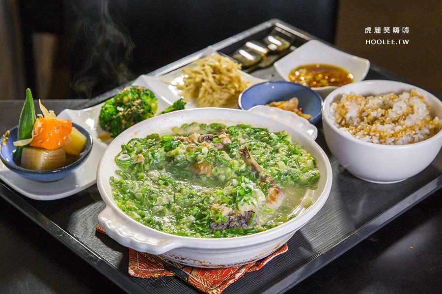 靖品食軒(高雄)爆滿蔥蔥雞湯鍋物,蔥控必吃!還有丼飯及無限供應水果茶
