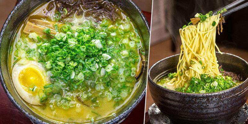 森拉麵(高雄)滿滿都是蔥豚骨拉麵,平價料理!每日限量的熱騰騰美味