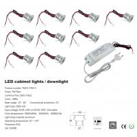 Led Cabinet Light 3w 9pcs 95lm Ac95 120v Or Ac195 240v
