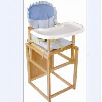 Convertible Babies High Chairs For Restaurant Wooden
