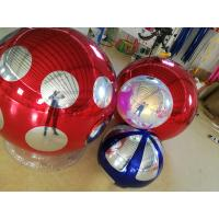 Commercial Silver Pvc Inflatable Mirror Ball Disco