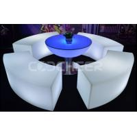 Event Use Rgb Color Led Outdoor Furniture Plastic