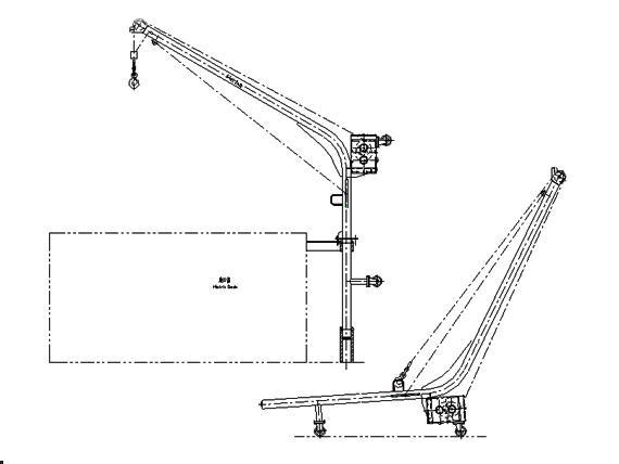 Air And Manual Hoist Product Portable Pneumatic or Manual