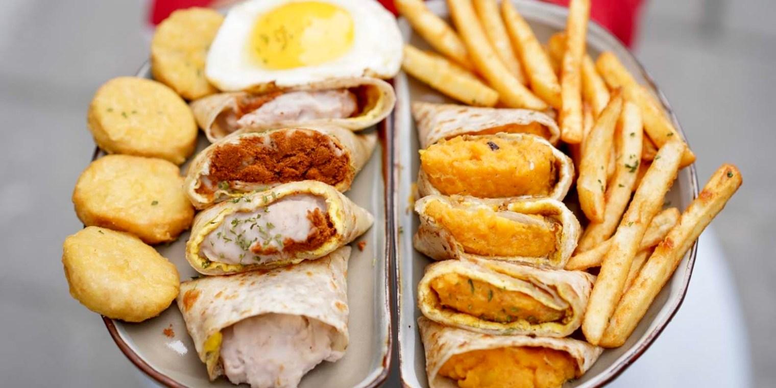 【台北美食】北門站早餐推薦『富士山の豬』近西門町、台北車站,主打蛋餅、早午餐、三明治。(內有菜單menu)