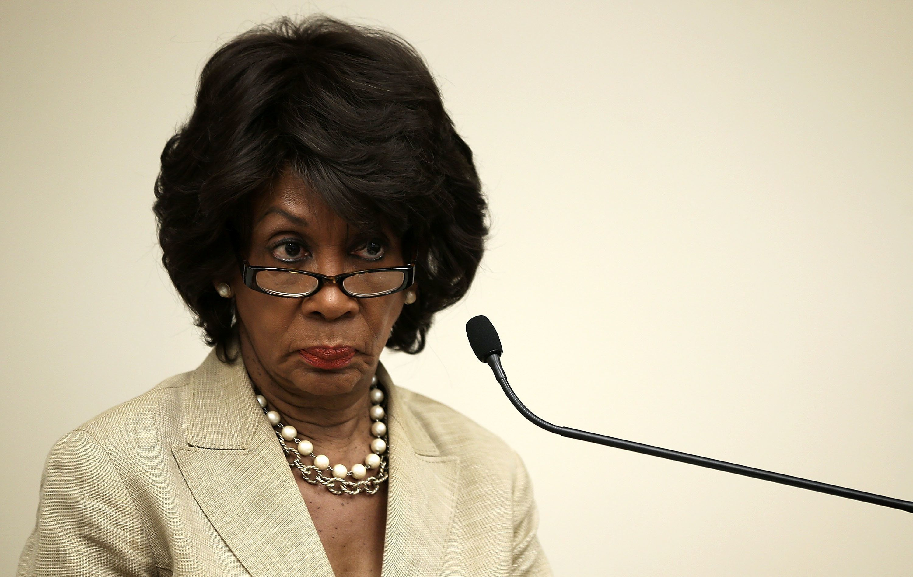 "<span class='image-component__caption' itemprop=""caption"">Rep. Maxine Waters (D-Calif.), pictured, along with Sens. Sherrod Brown (D-Ohio) and Elizabeth Warren (D-Mass.), have criticized HUD's proposal</span>"