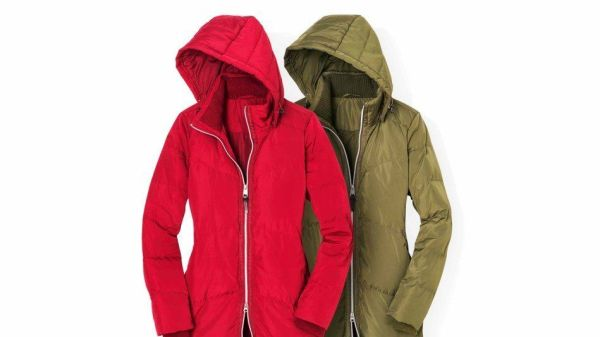 Land's End coats from Oprah's Favorite Gift List for 2016