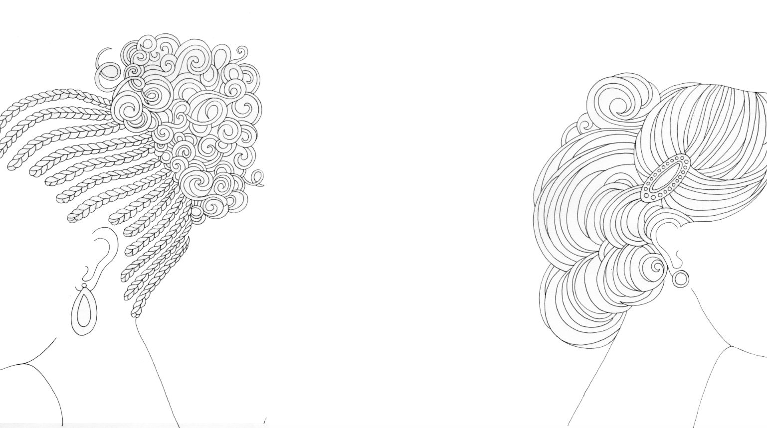 Coloring Book 'I Love My Hair' Celebrates Curls, Braids