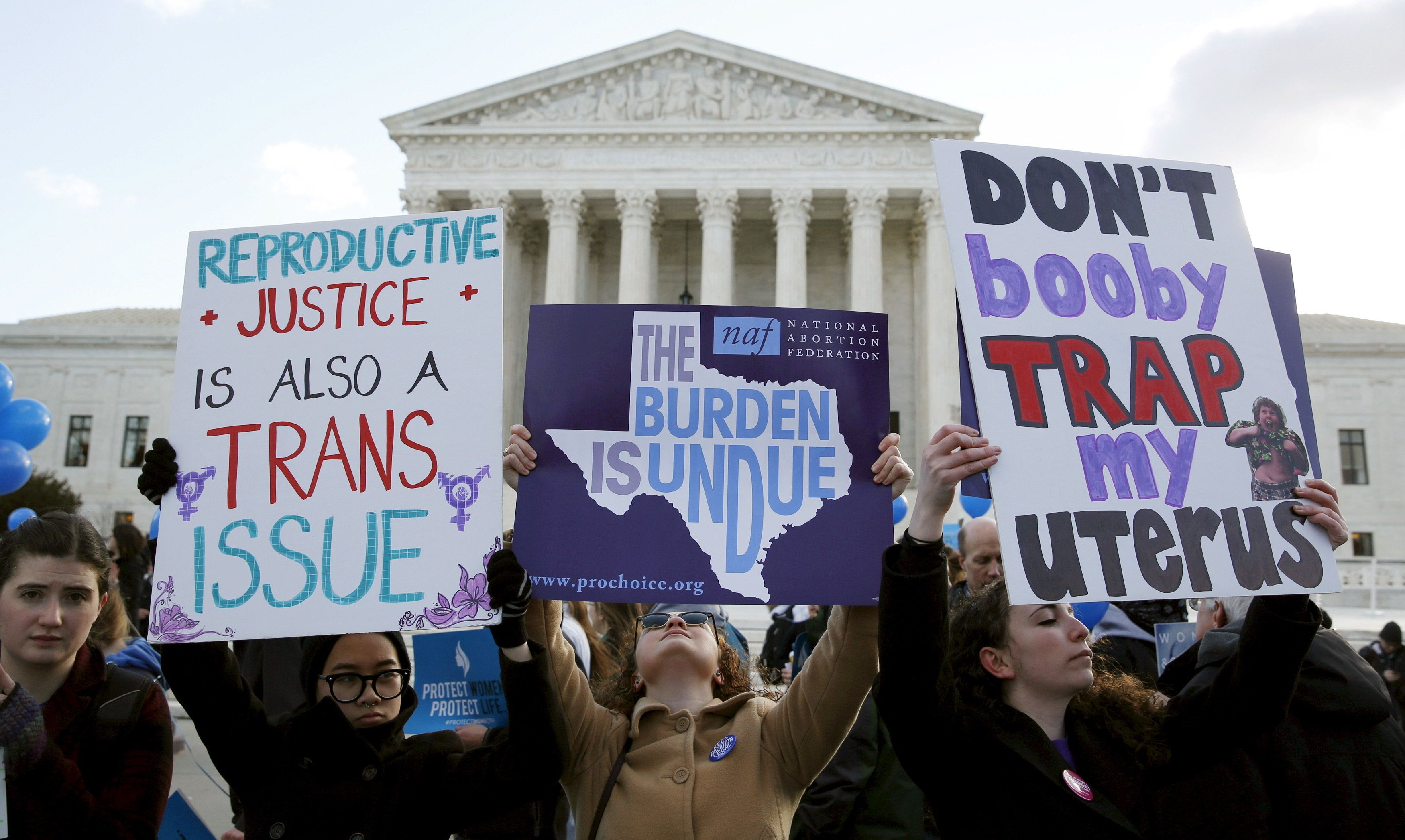Supreme Court Strikes Down Texas Abortion Law Breathing