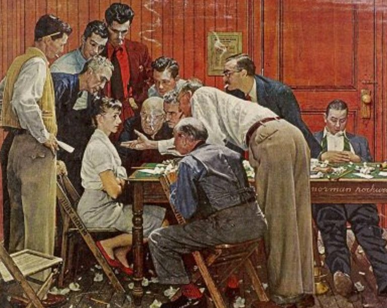 This Norman Rockwell Painting Sums Up Being A Woman On The