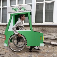 Wheelchair Uber Rv Recliner Chair French Startup Launches An 39uber 39 For People Who Use