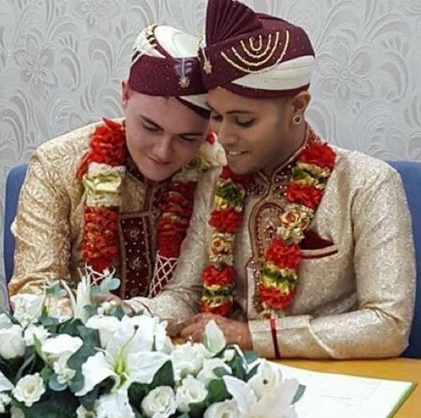 Image result for first ever gay Muslim wedding takes place in the United Kingdom. .