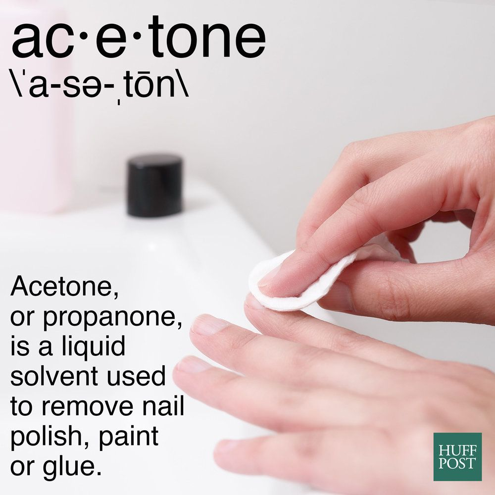 What The Heck Is Acetone And How Does It Affect Your Nails Huffpost