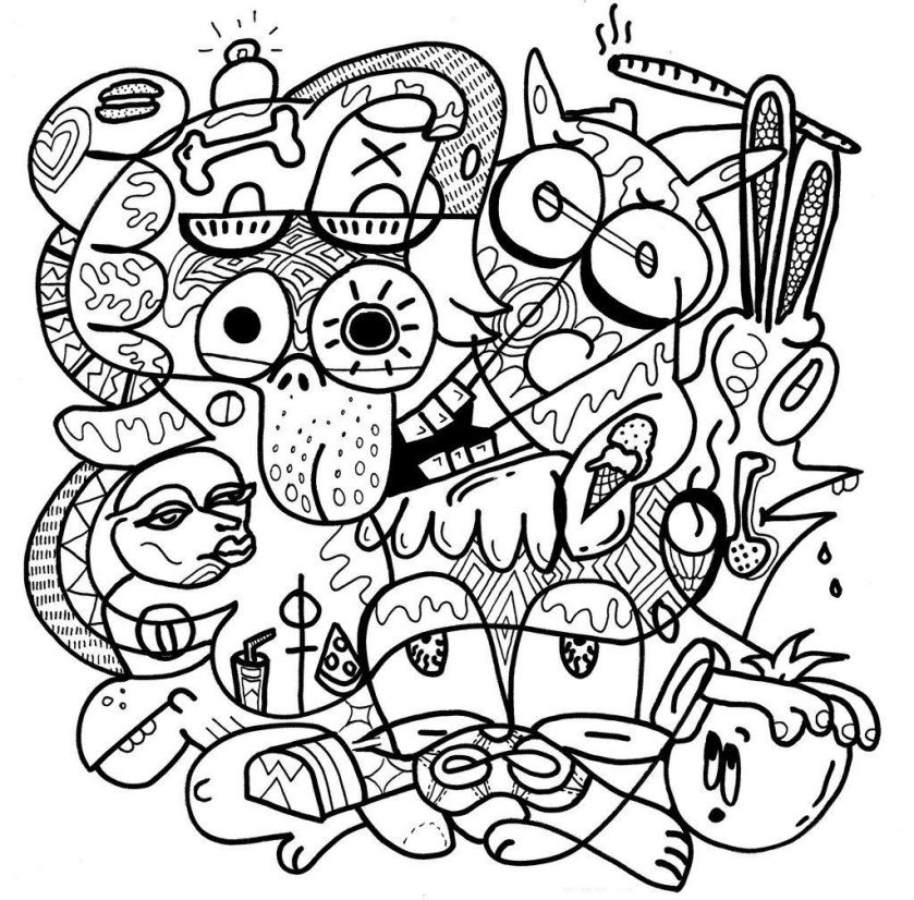 whoa man there's a coloring book for stoners  huffpost
