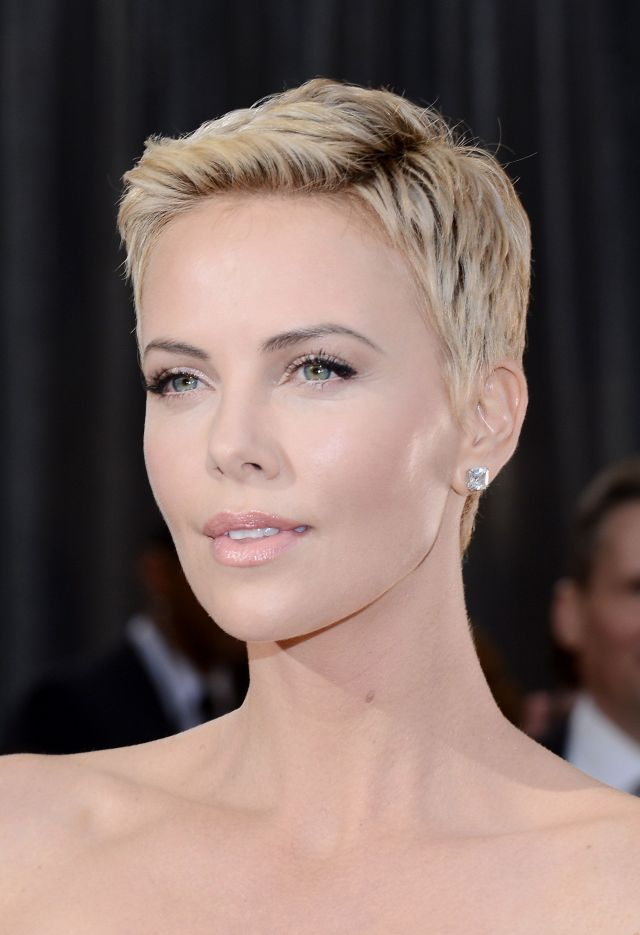 19 times charlize theron inspired us to cut our hair short