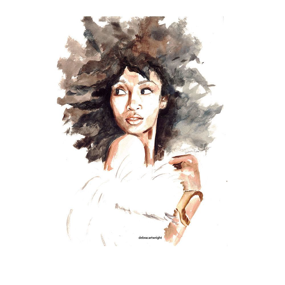 Delicate Watercolors Combat Oversimplified 'strong Black
