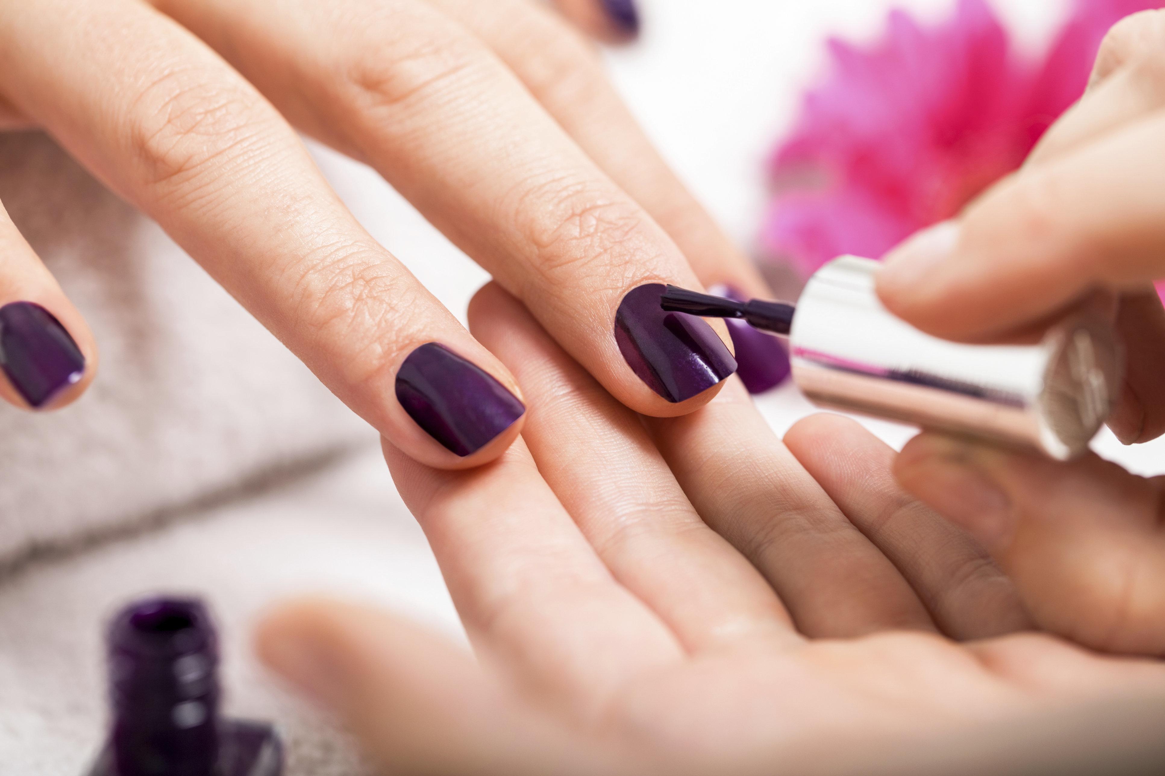 dark nail polish colors