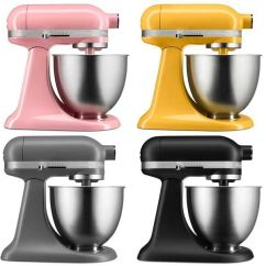 Kitchen Aid Colors Remodeling Tips Kitchenaid S New Mini Stand Mixer Targets Millennials And Baby Boomers Because Of Course Huffpost Life