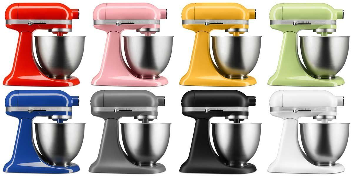 kitchen aid colors white cabinets kitchenaid s new mini stand mixer targets millennials and baby boomers because of course huffpost life