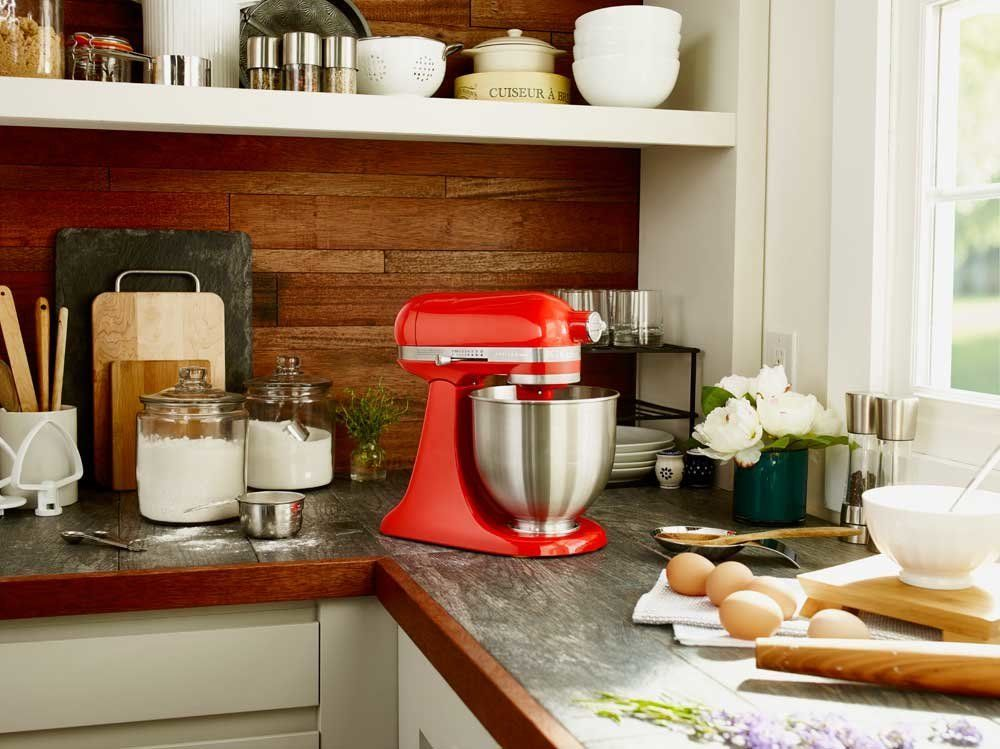 mixer kitchen aid travel trailers with rear kitchenaid s new mini stand targets millennials and baby