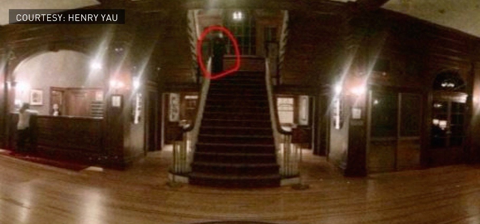 Stanley Hotel 'ghost' Caught Camera Huffpost