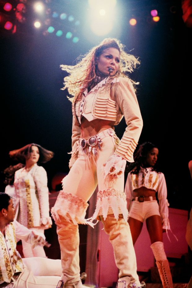Performing at Madison Square Garden in New York City.